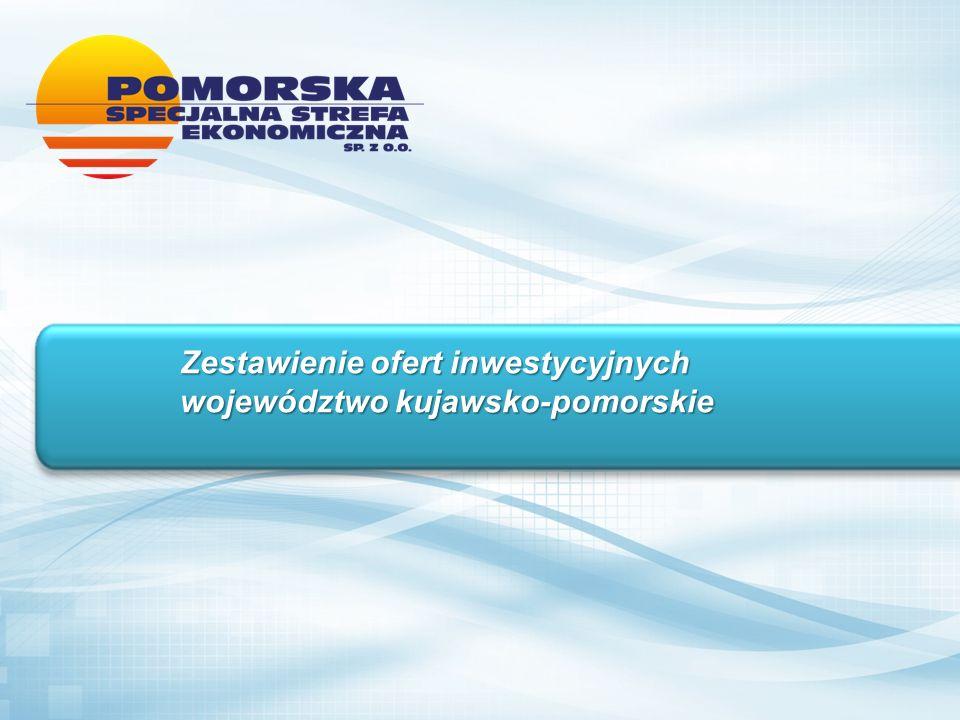 Zestawienie ofert inwestycyjnych województwo kujawsko-pomorskie