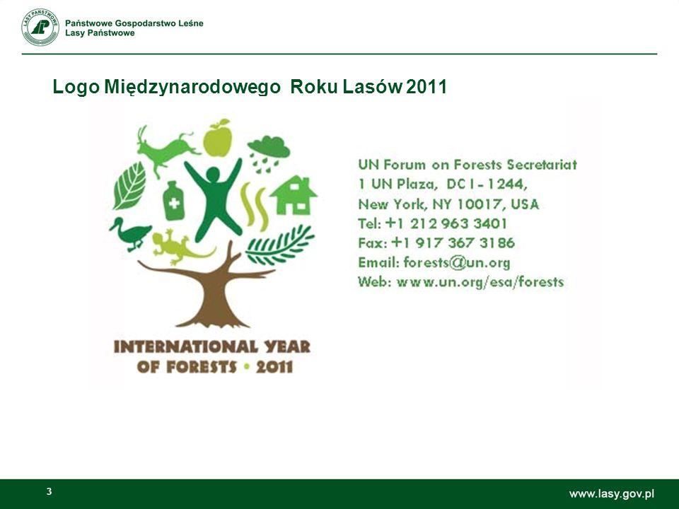 3 Logo Międzynarodowego Roku Lasów 2011