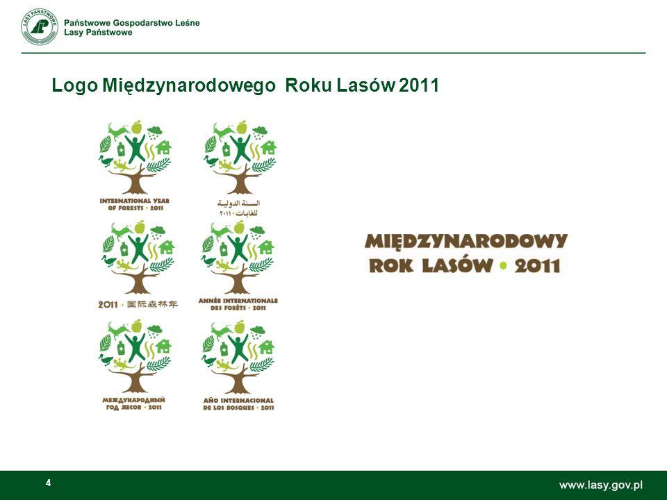 5 Wyjaśnienie projektu logo Projekt logo Międzynarodowego Roku Lasów 2011 (Lasy 2011) służy przekazaniu przesłania Lasy dla ludzi podkreślając kluczową rolę ludzi w zakresie zrównoważonego zarządzania, ochrony i zrównoważonego rozwoju lasów na świecie.
