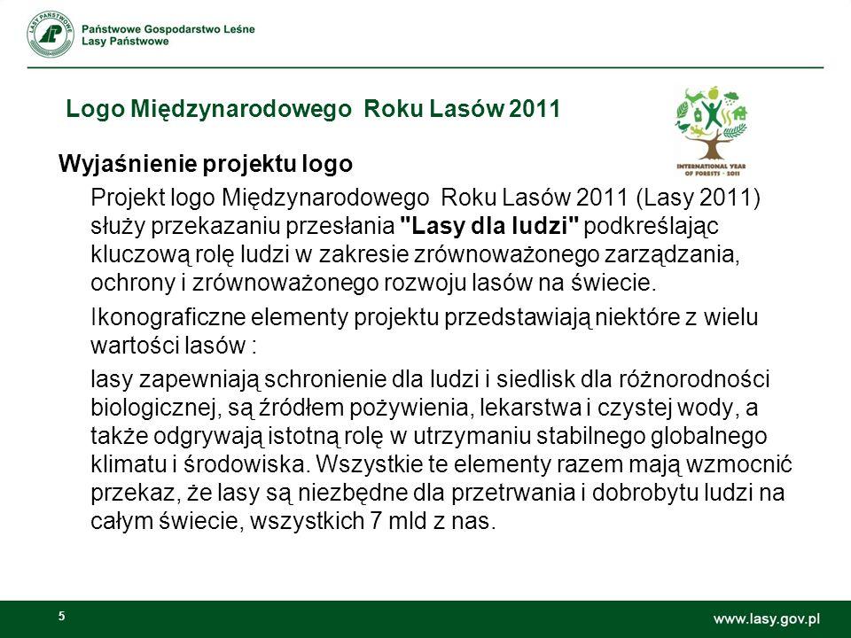 16 Koncepcja obchodów Międzynarodowego Roku Lasów w Polsce Edukacja: Prowadzenie edukacji w Leśnych Kompleksach Promocyjnych Dni otwarte w ośrodkach edukacyjnych Wyprodukowanie książeczek dla dzieci i młodzieży (2 rodzaje) łamiących stereotypy odbierania lasów i leśnictwa Imprezy skierowane do ogółu społeczeństwa – w czasie imprez logo roku lasów i przesłanie Dni Lasu 2011 – centralne obchodzone w Warszawie połączone z i tzw.
