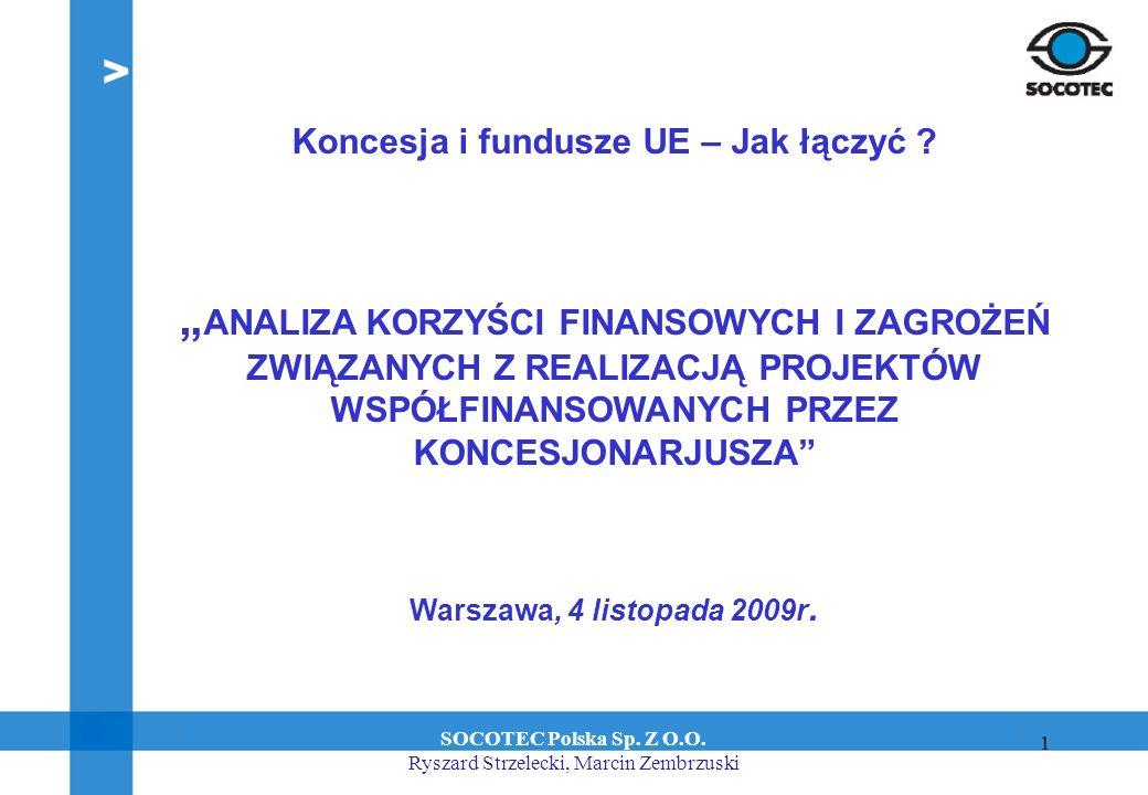 1 System zagospodarowania odpadów komunalnych w Olsztynie. Budowa Zakładu Unieszkodliwiania Odpadów Olsztyn, 29 stycznia 2008 r. Koncesja i fundusze U