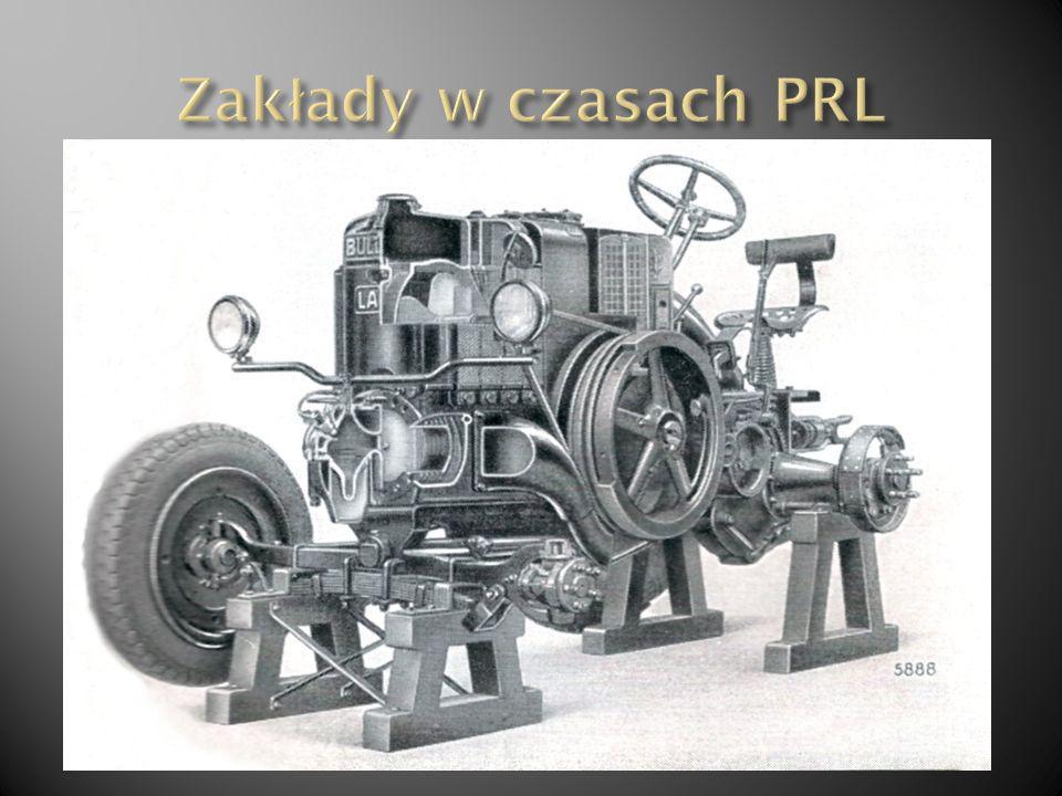 W 1945 roku na podstawie pozwolenia wydanego przez władze rosyjskie część załogi Ursusa wraz z inżynierem Bolesławem Koehlerem, który pracował w Ursus