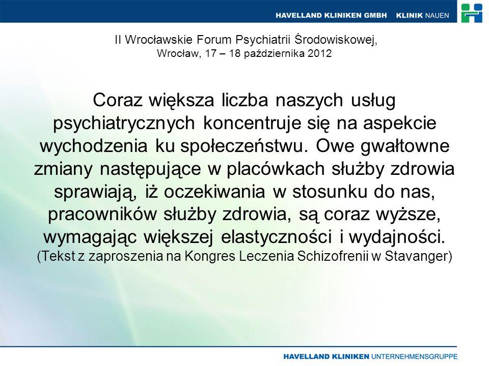 Otwarty Dialog i jego realizacja w niemieckiej służbie zdrowia Wizja na rok 2010 i następne lata Dział, firma, lokalne władze, wpływy polityczne
