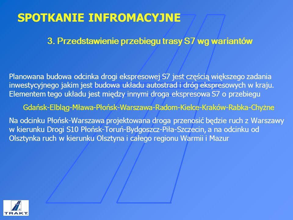 SPOTKANIE INFROMACYJNE Wariant IIB Długość 22,7km – (w.