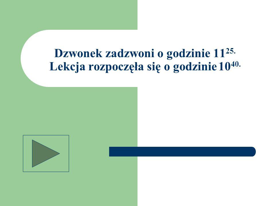 Zad.5 Rok szkolny 2008/2009 rozpoczyna się 1 września, a kończy się 19 czerwca.