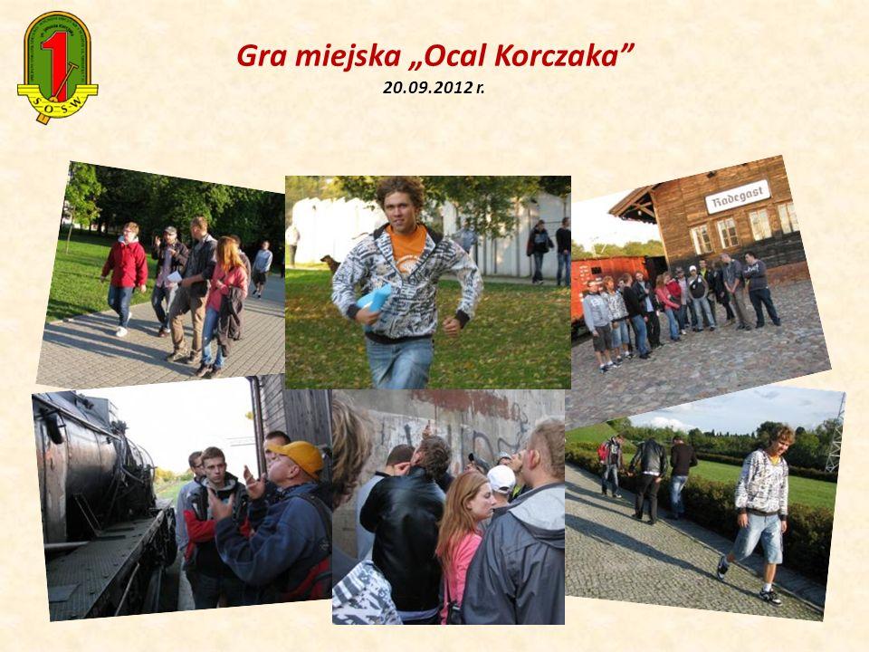 Gra miejska Ocal Korczaka 20.09.2012 r.