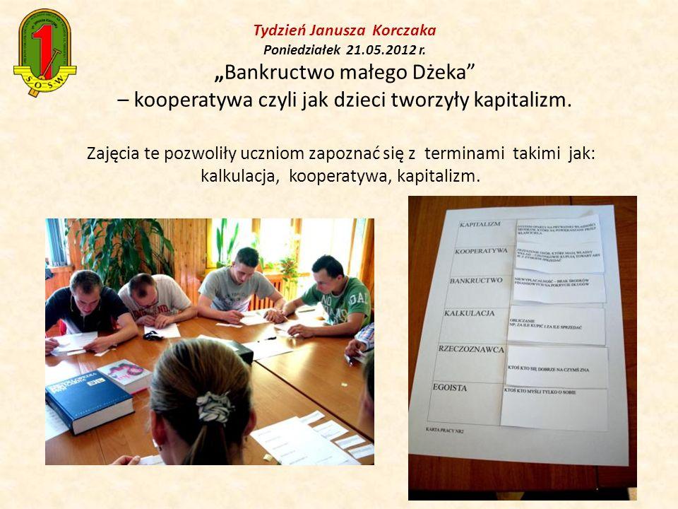 Ostatecznie wychowankowie spisali listę członków, podpisali umowę, wspólnie stworzyli regulamin IKO.