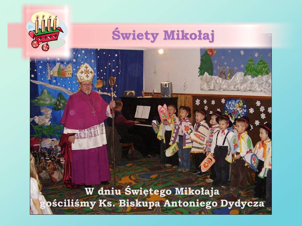 W dniu Świętego Mikołaja gościliśmy Ks. Biskupa Antoniego Dydycza Świety Mikołaj