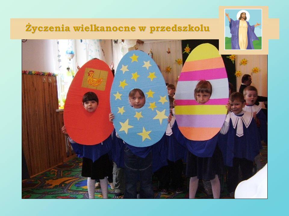 Życzenia wielkanocne w przedszkolu