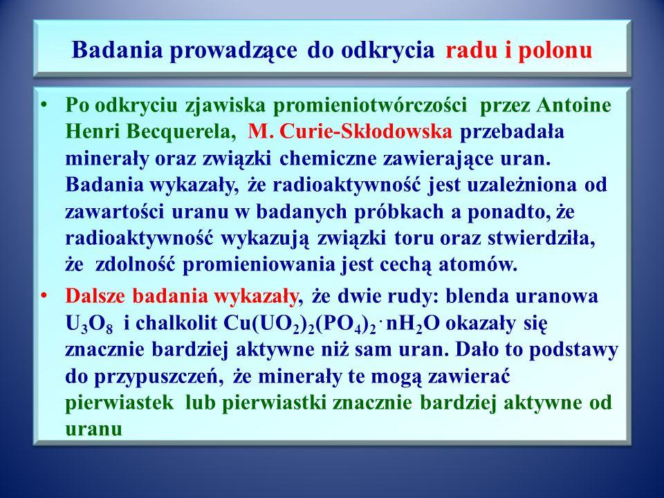 Dorobek naukowy Maria Skłodowska-Curie jako jedyna kobieta uczestniczyła w Konferencjach Solvayowskich – dorocznych spotkaniach najwybitniejszych uczo