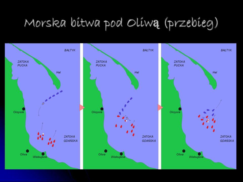 Morska bitwa pod Oliw ą (przebieg)