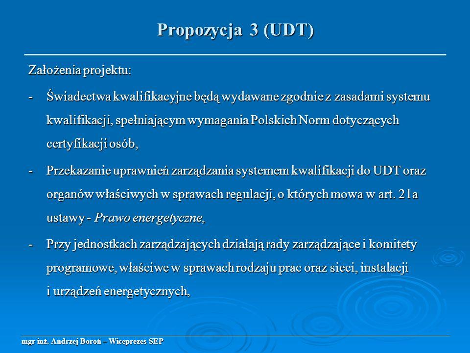 Założenia projektu: -Świadectwa kwalifikacyjne będą wydawane zgodnie z zasadami systemu kwalifikacji, spełniającym wymagania Polskich Norm dotyczących