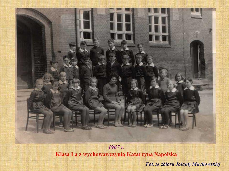 1969 r. Klasa VII a fot. ze zbioru Wiesława Gołeckiego