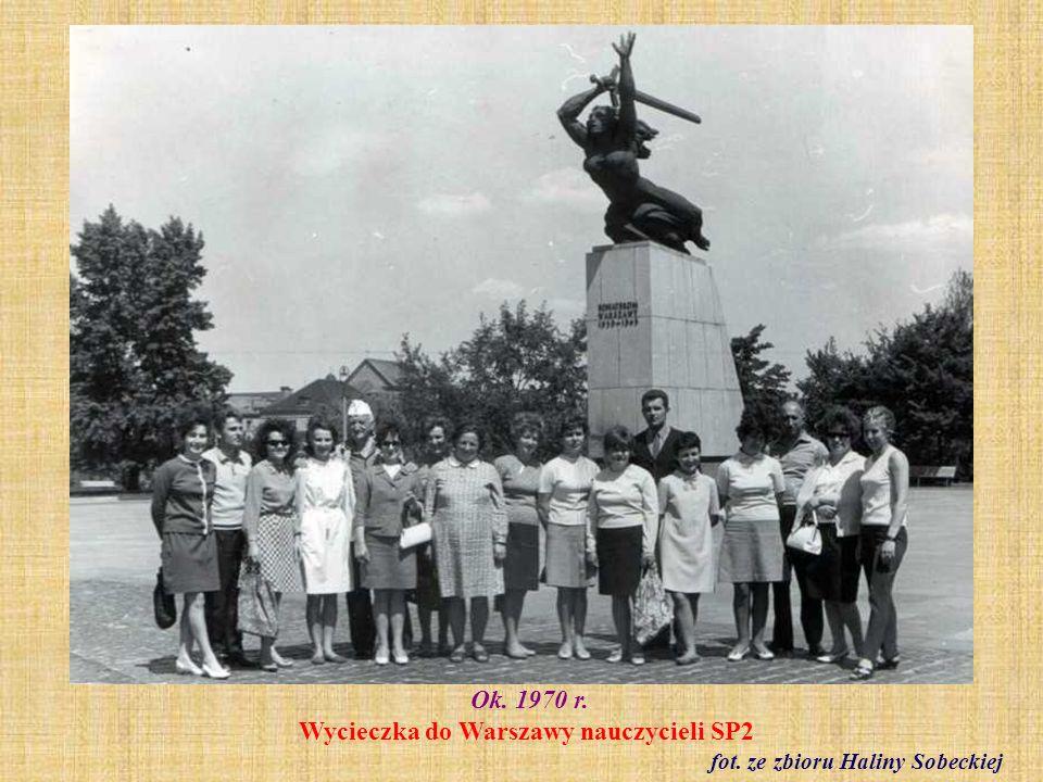 1971 r. Klasa IV a fot. ze zbioru Jolanty Muchowskiej