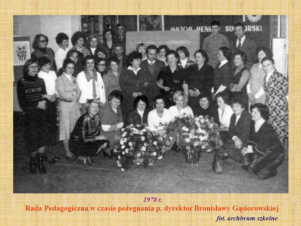 1978 r. Klasa VIII a fot. ze zbioru Haliny Frelek