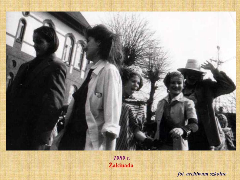 1989 r. Klasa VIII c fot. ze zbioru Haliny Frelek