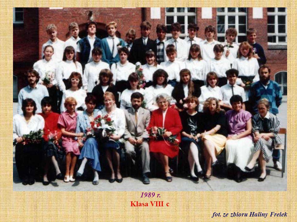 1992 r. Zespół Muzyki Dawnej Flauto Dolce. fot. archiwum szkoły