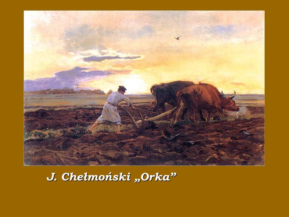J J. Chełmoński Orka