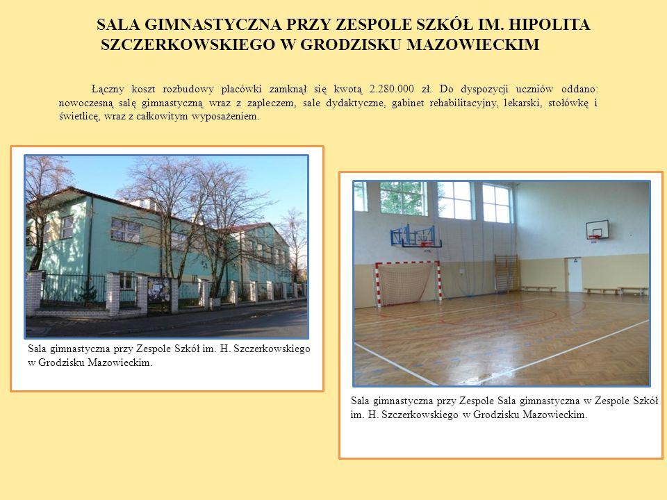 Łączny koszt rozbudowy placówki zamknął się kwotą 2.280.000 zł. Do dyspozycji uczniów oddano: nowoczesną salę gimnastyczną wraz z zapleczem, sale dyda