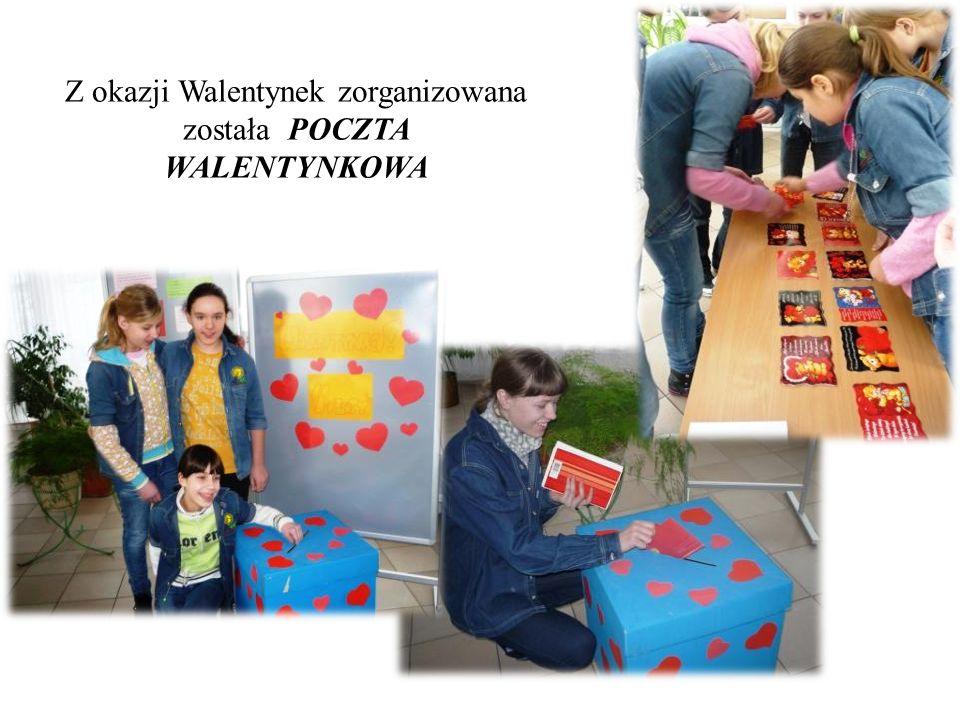Z okazji Walentynek zorganizowana została POCZTA WALENTYNKOWA