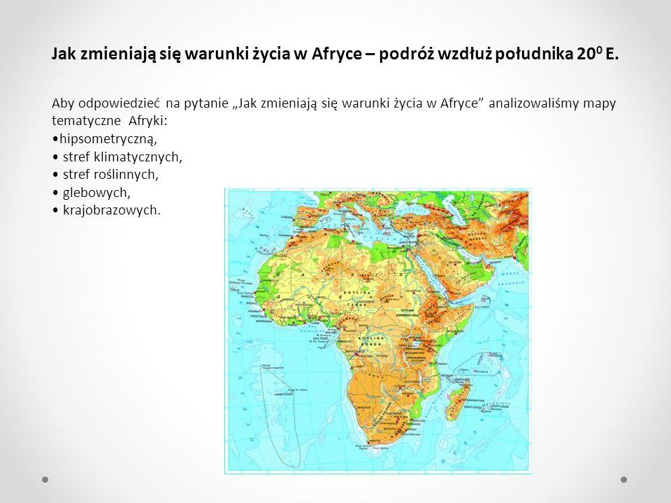 8.Kapsztad Strefa śródziemnomorska – obszary rolnicze [8- Kapsztad].Rozciąga się od 32 0 S do 34 0 S.