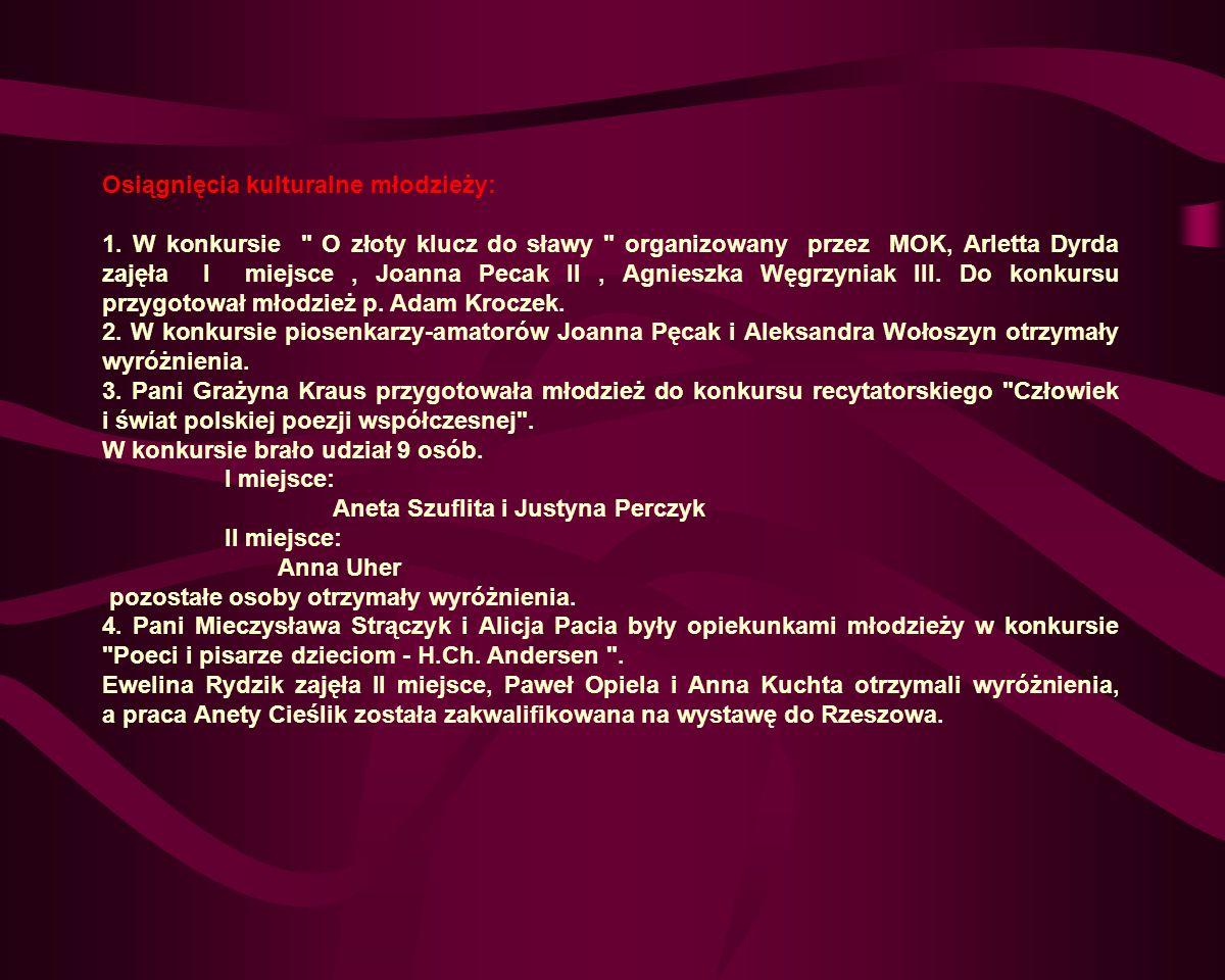 Rok Szkolny 1993/94.Wrzesień 93 Uroczyste rozpoczęcie roku szkolnego.