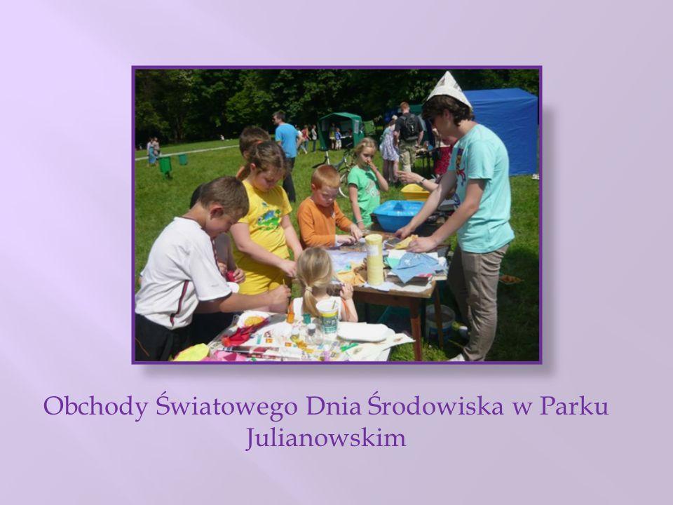 Obchody Światowego Dnia Środowiska w Parku Julianowskim