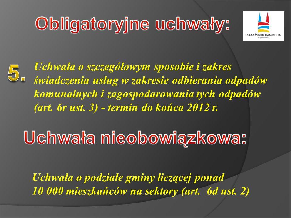 Zbierania 5 400 000 zł/rok Transportu Odzysku Unieszkodliwiania 45 000 mieszkańców x 400 kg/os/rok = 18 000 ton 18 000 ton x 300 zł =
