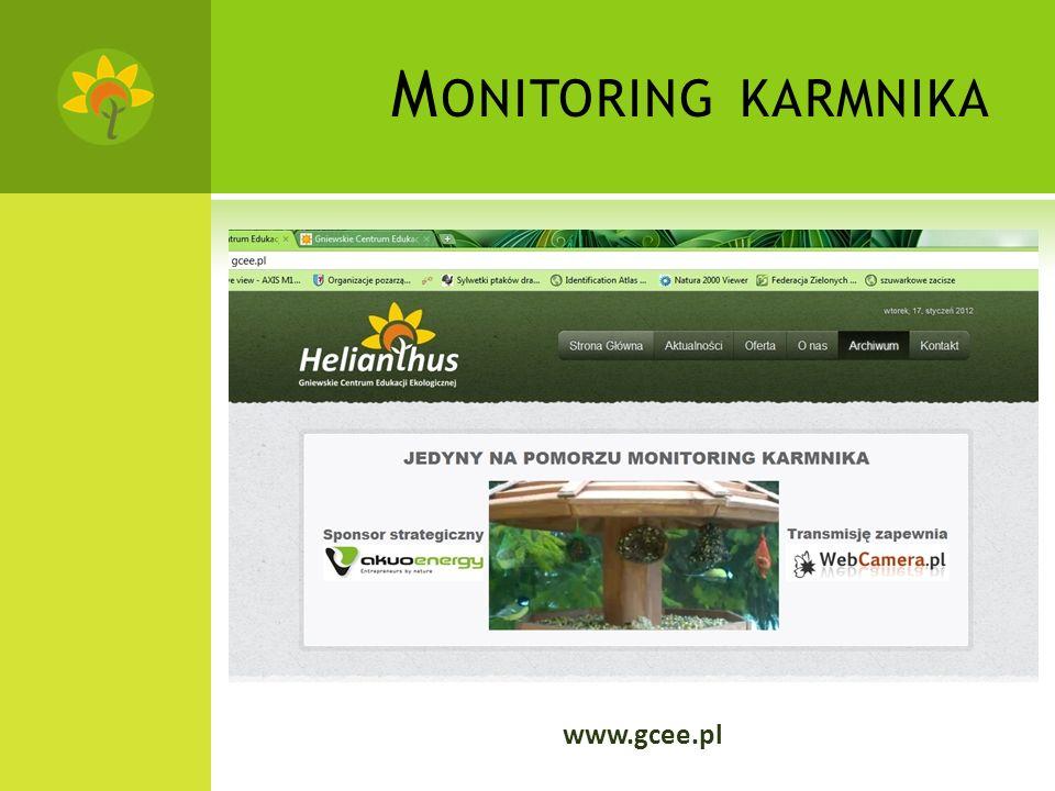 M ONITORING KARMNIKA www.gcee.pl