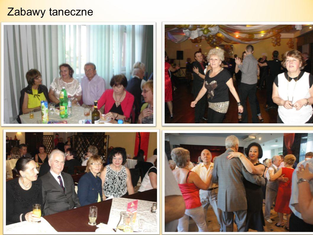 ZABAWY TANECZNE oraz TERAPIA TAŃCEM I RUCHEM Pierwsza zabawa taneczna w połączeniu z otrzęsinami nowo przyjętych studentów UTW 2012/2013 odbyła się w dniu 17 listopada 2012 r.