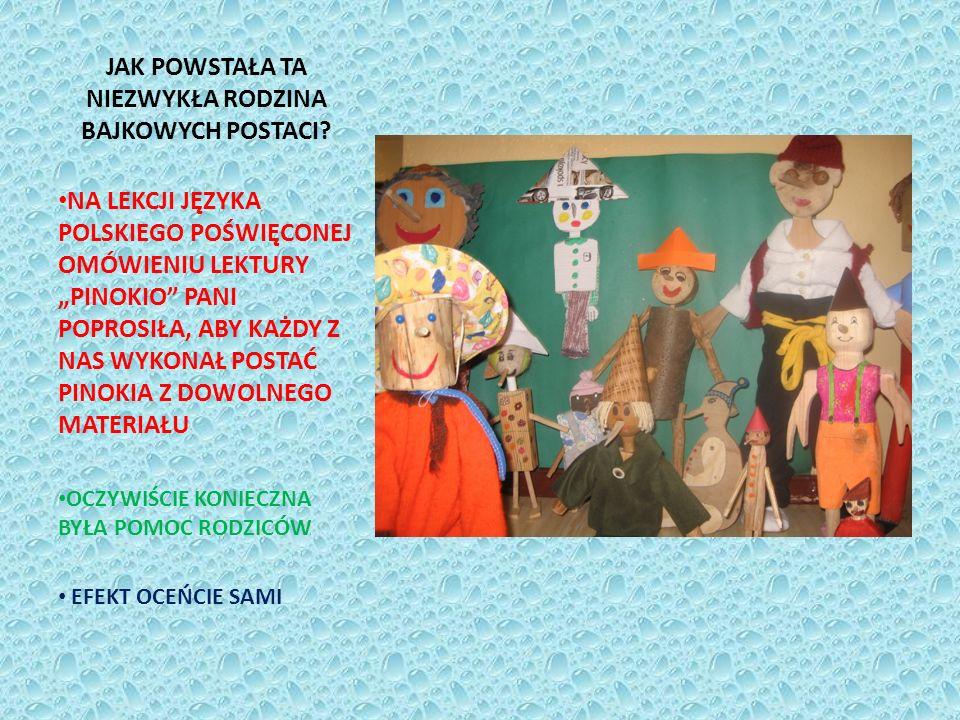 Pinokio Oli NIEZWYKŁYCH ROZMIARÓW PINOKIO, KTÓRY SIEDZI SOBIE NA PNIACZKU