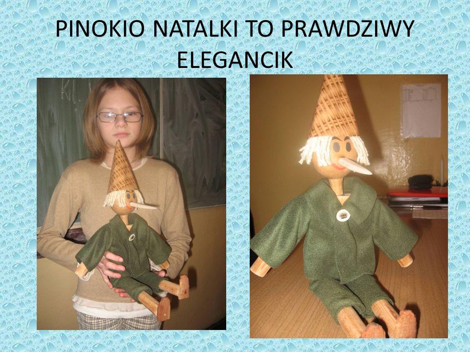 PINOKIO NATALKI TO PRAWDZIWY ELEGANCIK