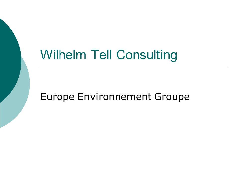 Wilhelm Tell Consulting WILHELM TELL 1990r rok założenia Wilhelm Tell Sp.