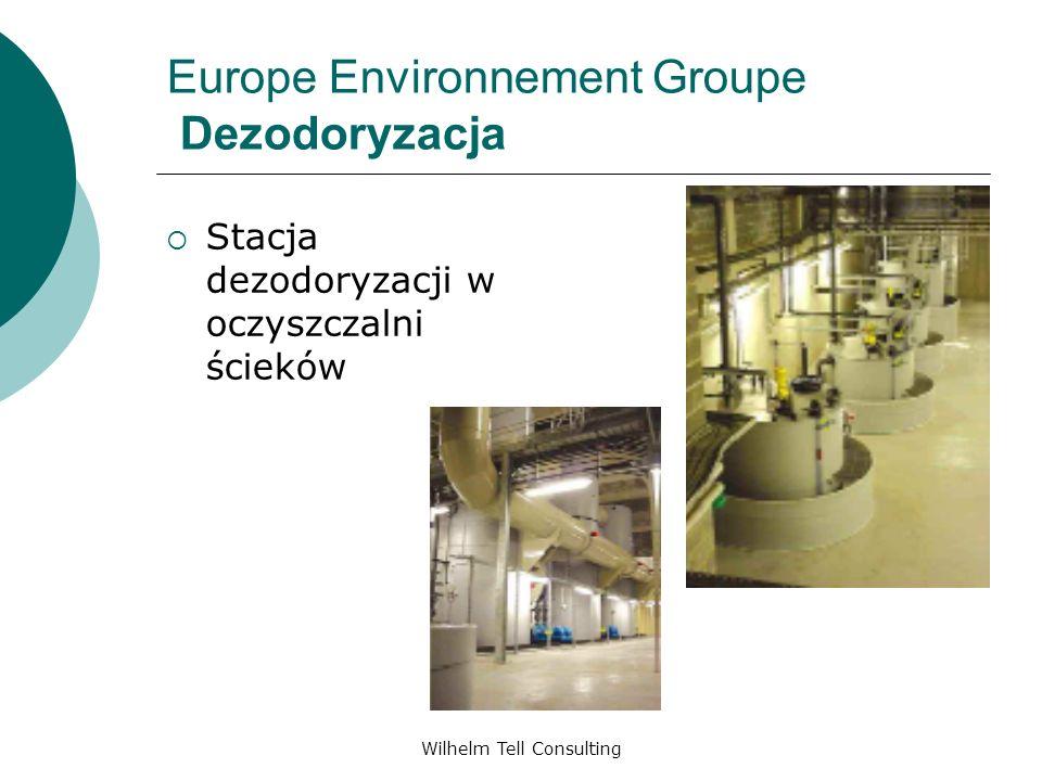 Wilhelm Tell Consulting Europe Environnement Groupe Dezodoryzacja Stacja dezodoryzacji w oczyszczalni ścieków