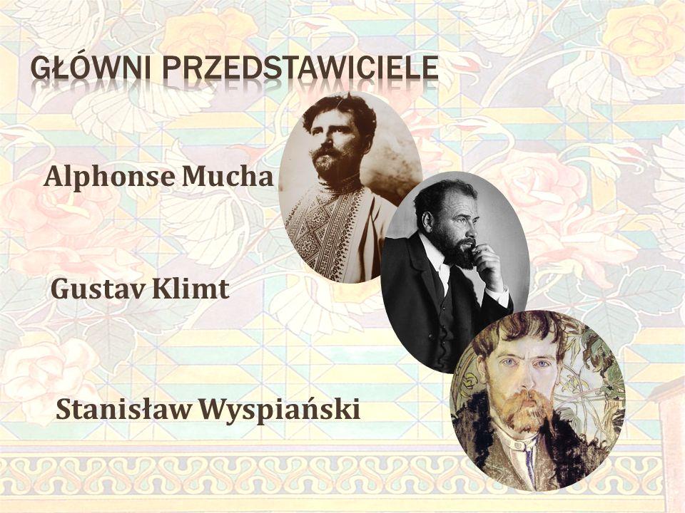 Alphonse Mucha Gustav Klimt Stanisław Wyspiański