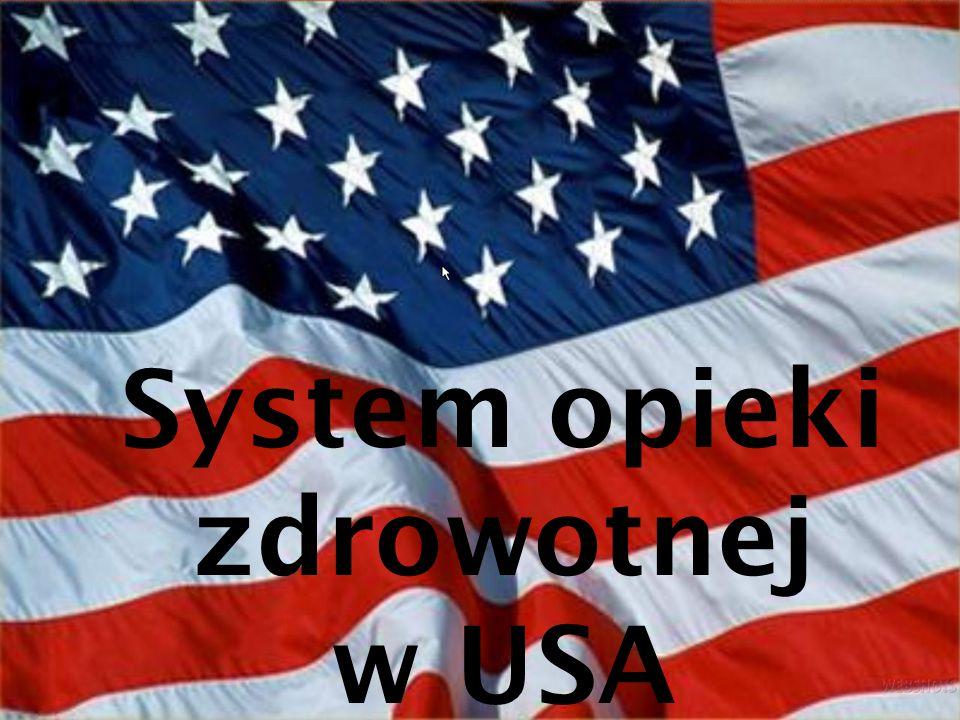 System opieki zdrowotnej w USA