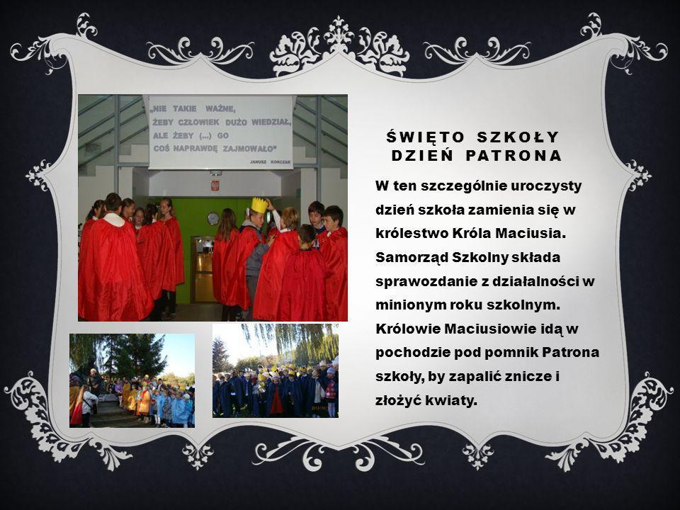 KSIĘGA KORCZAKOWSKA Biblioteka szkolna wystawiła Księgę Korczakowską Moje spotkanie z Januszem Korczakiem, do której wpisali się uczniowie i rodzice.