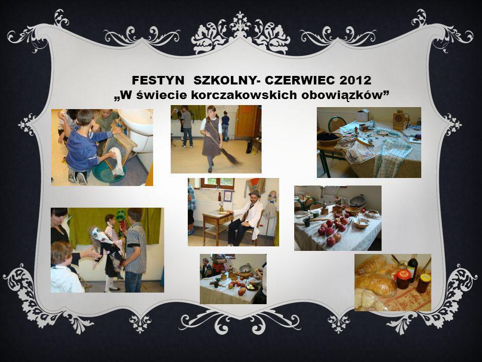 FESTYN SZKOLNY- CZERWIEC 2012 W świecie korczakowskich obowiązków