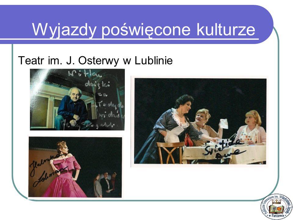 Osiągnięcia Szkoły Pod kierunkiem p.K. Kowalczuk i E.