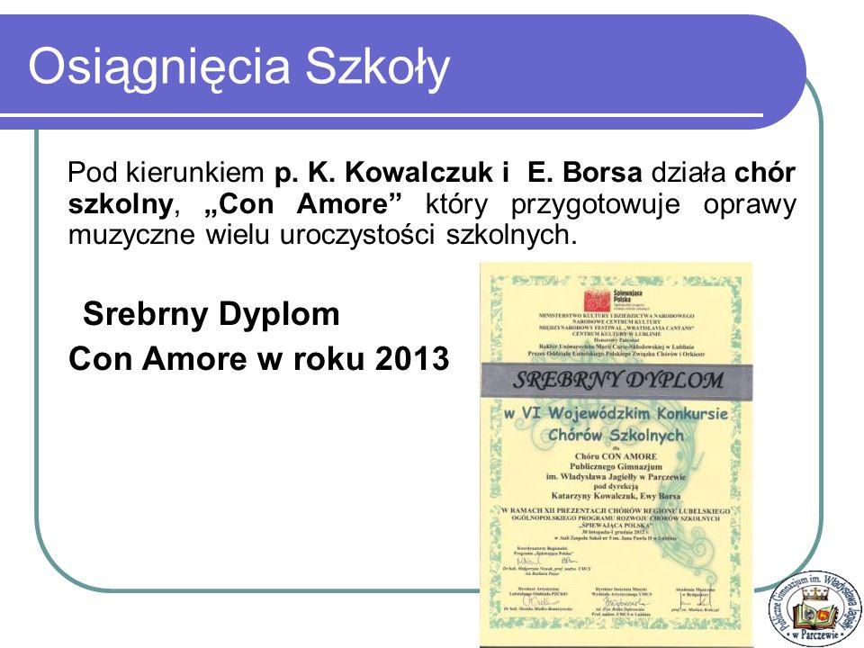 Osiągnięcia indywidualne Uczniów Jesienne nutki - Weronika Chilczuk zajęła drugie miejsce - zdobyła srebrny kasztan (op.