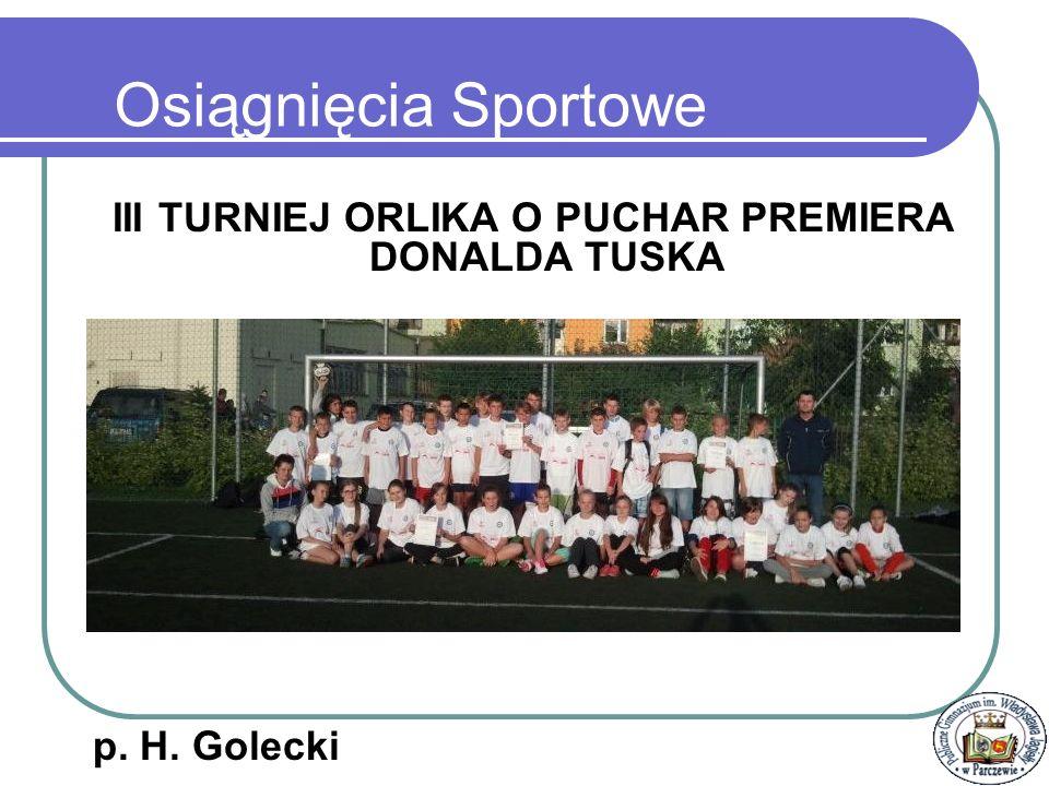 Podlaska Liga Koszykówki II m. MKS OLimp p. H. Golecki Osiągnięcia Sportowe