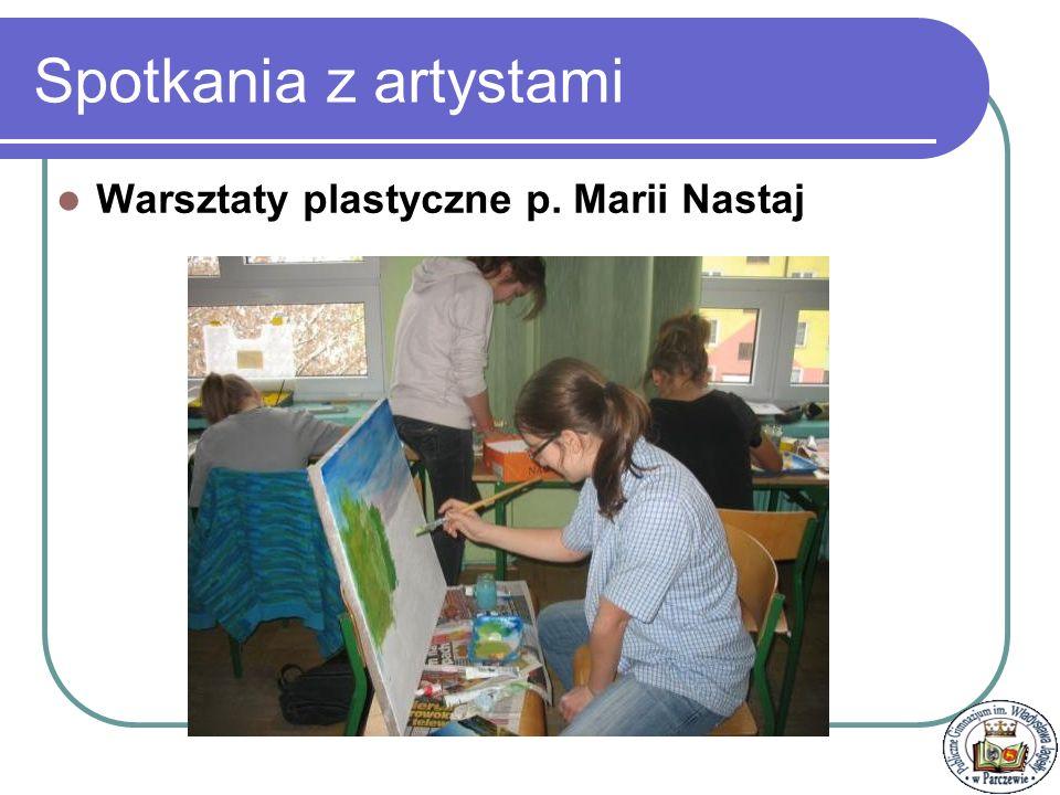 Spotkania z artystami Warsztaty fotograficzne z p. Andrzejem Chodackim