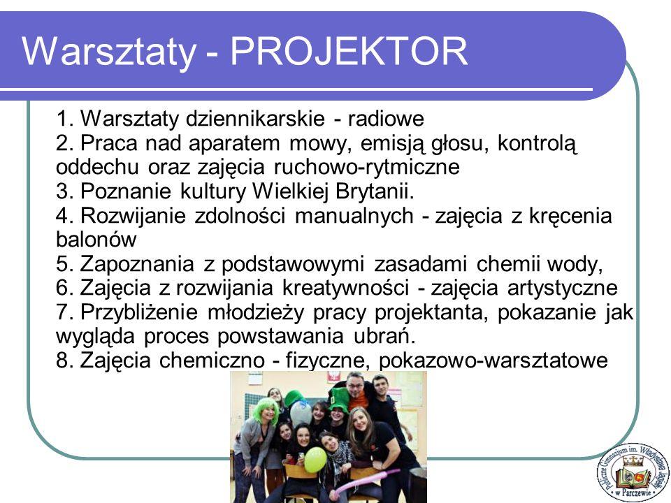 Stypendyści – absolwenci szkoły Nauka: 1.Angelika Abramiuk 2.