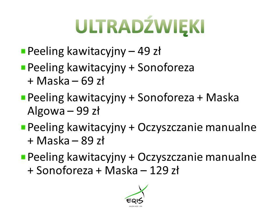 SONOFOREZA – zabieg wykorzystujący fale ultradźwiękowe, polegający na wprowadzaniu w głąb skóry substancji aktywnych, dobranych odpowiednio do jej rodzaju i potrzeb.