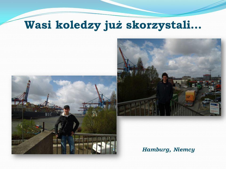 Wasi koledzy już skorzystali… Hamburg, Niemcy