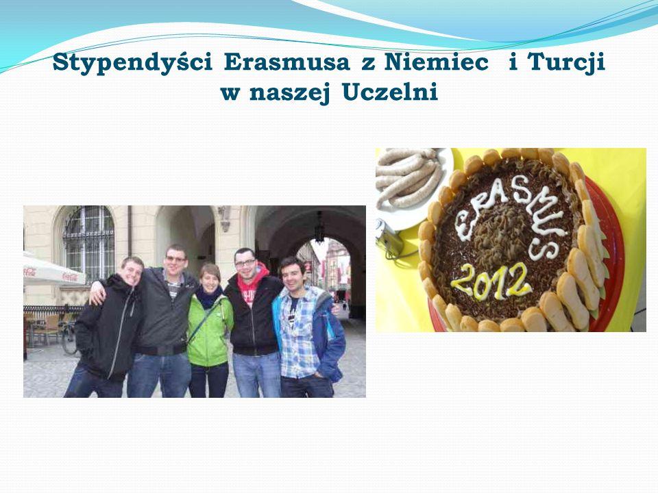 Stypendyści Erasmusa z Niemiec i Turcji w naszej Uczelni