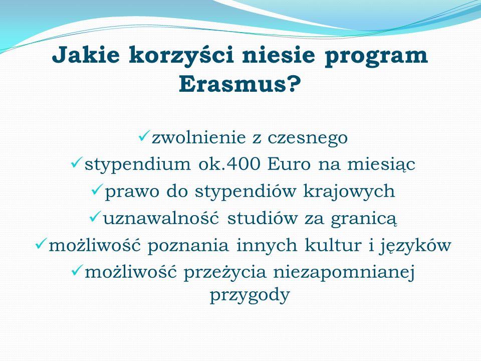 Jakie korzyści niesie program Erasmus.