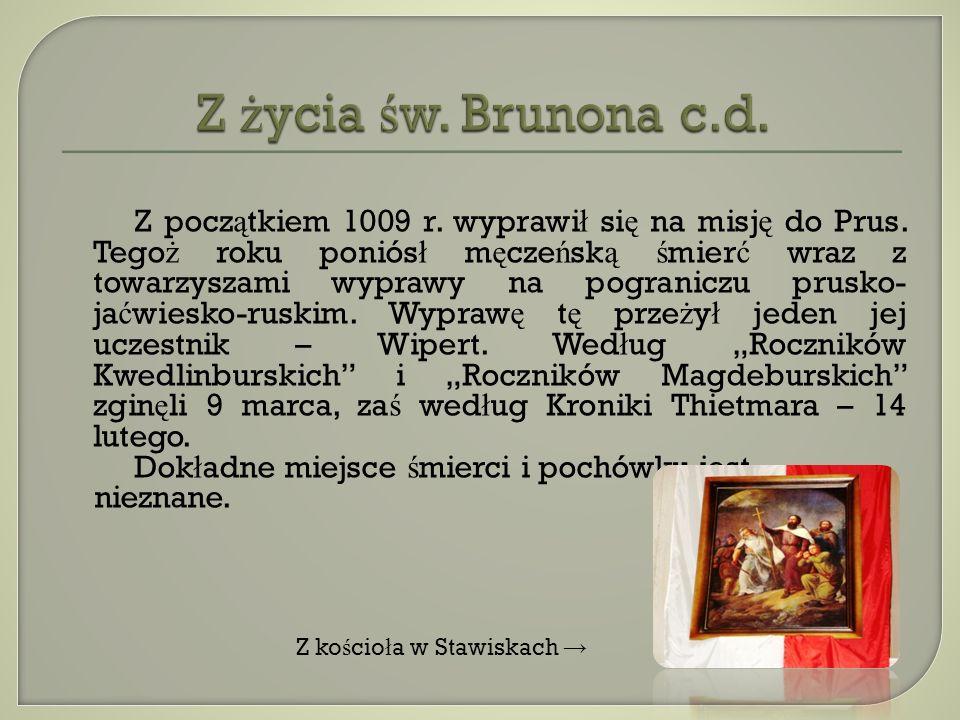 Widok na Ś mierciow ą Gór ę i kapliczk ę ze ś w.Brunonem, po ś wi ę con ą 10.06.2007 r.