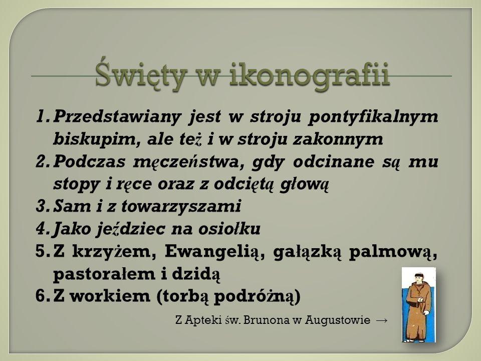 Ko ś ció ł pw.ś w. Brunona z Kwerfurtu z lat 1936-38, konsekrowany 26.06.1938 r.