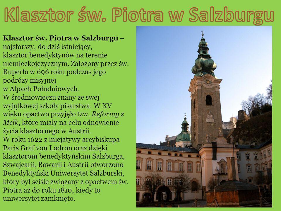 W roku 1926 dzięki staraniom opata Petrusa Karla Klotz otworzono Kolleg St.